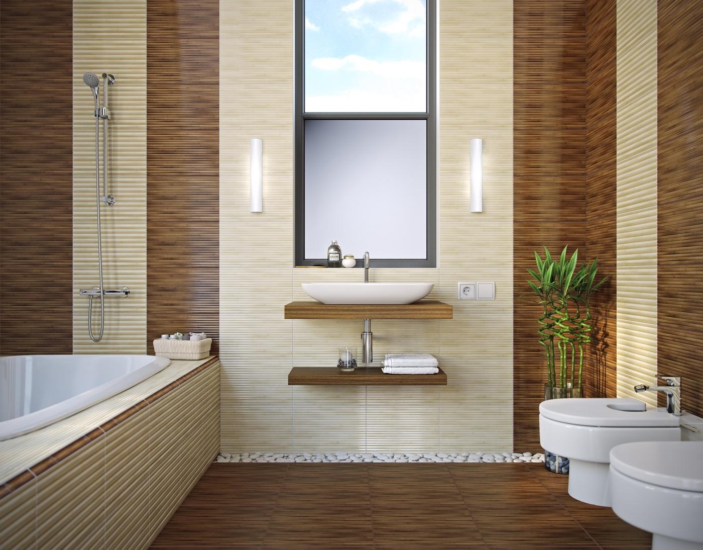 Плитка цвета бамбук