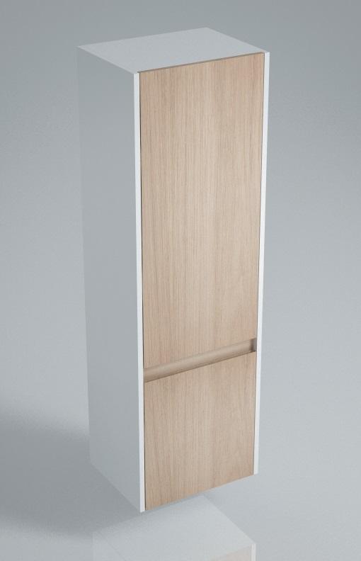 Пенал BUONGIORNO 120 см, 2 двери, дуб<br>