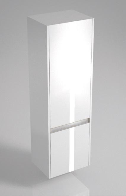 Пенал BUONGIORNO 120 см, 2 двери, европейский белый<br>