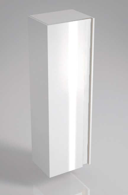 Пенал BUONGIORNO 150 см, европейский белый<br>