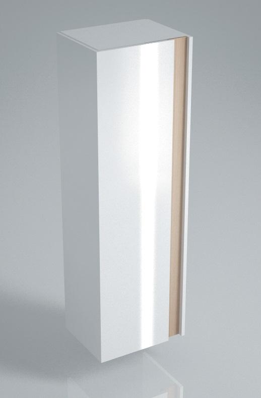 Пенал BUONGIORNO 150 см, белый<br>