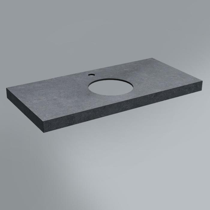 Столешница декоративная 100х48 Роверелла серый темный<br>