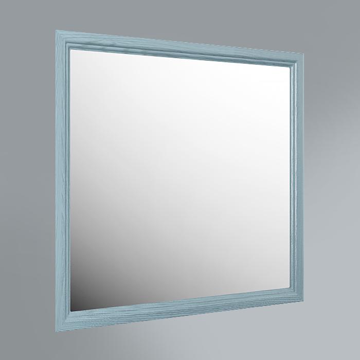 Панель с зеркалом Provence, 80 см синий<br>