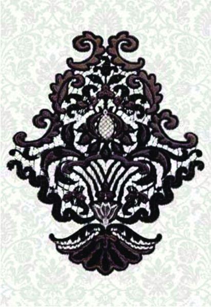 Декор органза керамин
