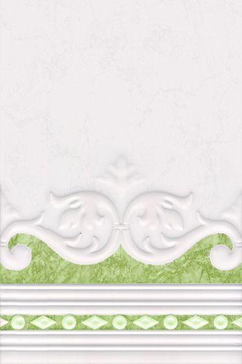 плитка барокко нефрит